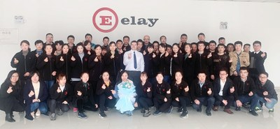 Elay China team has received its new managing Director